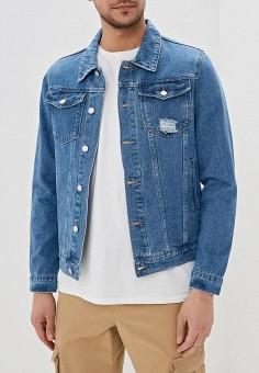 9ebd40ed4 Куртка джинсовая, Befree, цвет: синий. Артикул: MP002XM04ZFY. Одежда /  Верхняя