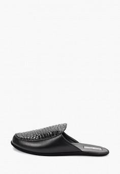 b5b8e3bd18f24 Тапочки, Razgulyaev Blagonravova, цвет: черный. Артикул: MP002XM04ZRS.  Обувь / Домашняя