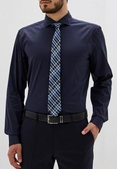 37219c22dc748 Рубашка, Boss Hugo Boss, цвет: синий. Артикул: MP002XM0519C. Одежда /