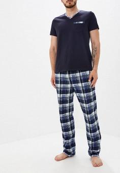 fff50834b9b70 Пижама, Cleo, цвет: синий. Артикул: MP002XM051I6. Одежда / Домашняя одежда