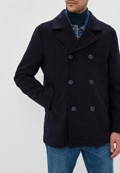 3928d7ab Пальто, Befree, цвет: синий. Артикул: MP002XM07VPJ. Одежда / Верхняя одежда