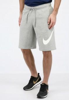 1c9df733 Шорты спортивные, Nike, цвет: серый. Артикул: MP002XM0M1Q4. Одежда / Шорты