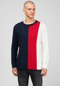 Джемпер, Tommy Hilfiger, цвет: мультиколор. Артикул: MP002XM0N64C. Tommy Hilfiger