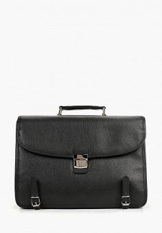 acbfc18e1480 Портфель, Franchesco Mariscotti, цвет: черный. Артикул: MP002XM0SXSN.  Аксессуары / Сумки