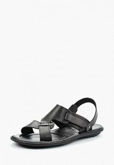 Сандалии, Alessio Nesca, цвет  черный. Артикул  MP002XM0YIA5. Обувь    Сандалии b19698912da