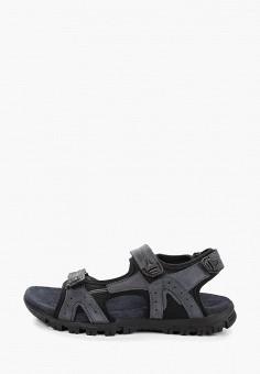 035127963 Сандалии, Woodland, цвет: синий. Артикул: MP002XM20LUS. Обувь / Сандалии