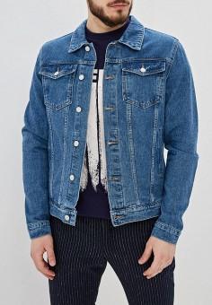 45375118 Куртка джинсовая, Befree, цвет: синий. Артикул: MP002XM23FQ0. Одежда /  Верхняя