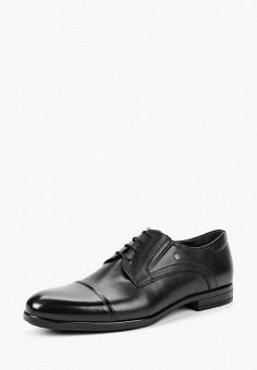 ebc6b9c4e Туфли, Pierre Cardin, цвет: черный. Артикул: MP002XM23S6Y. Обувь