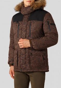 50537cd9300888 Пуховик, Finn Flare, цвет: коричневый. Артикул: MP002XM23UDP. Одежда /  Верхняя