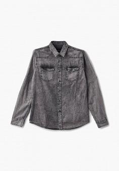 af8662e83364938 Рубашка джинсовая, LC Waikiki, цвет: серый. Артикул: MP002XM23VW6. Одежда /