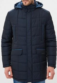 103bf871f934 Куртка утепленная, Bazioni, цвет  синий. Артикул  MP002XM23ZUG. Одежда    Верхняя
