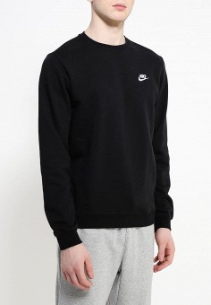 ec5e1fab Свитшот, Nike, цвет: черный. Артикул: MP002XM240KO. Одежда / Толстовки и