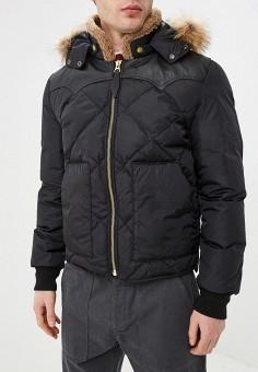 706b2080 Пуховик, Schott N.Y.C., цвет: черный. Артикул: MP002XM246T2. Одежда /  Верхняя