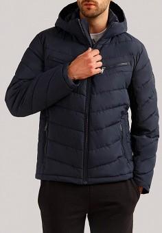 bf06839b56d98 Куртка утепленная, Finn Flare, цвет: синий. Артикул: MP002XM24988. Одежда /