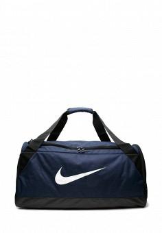 54a3bb72aa32 Сумка спортивная, Nike, цвет: синий. Артикул: MP002XU0E2ST. Аксессуары /  Сумки