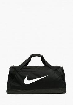 f12aac1249b6 Сумка спортивная, Nike, цвет: черный. Артикул: MP002XU0E5R9. Спорт / Все