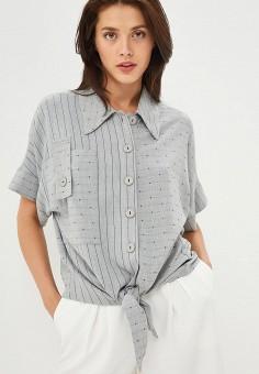 33d0da60a68fa02 Рубашка, Модный дом Виктории Тишиной, цвет: серый. Артикул: MP002XW01RUH.  Одежда