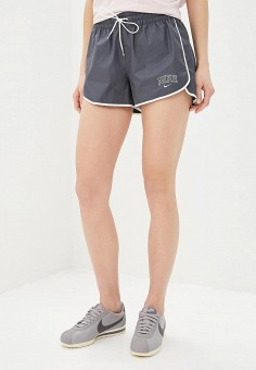 fab13682 Шорты спортивные, Nike, цвет: серый. Артикул: MP002XW01T2A. Одежда / Шорты