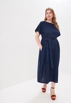 44e6b7bbe40b3ca Платье, Chic de Femme, цвет: синий. Артикул: MP002XW01TIP. Одежда /