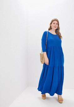 ee3b8b4ad79a059 Платье, Chic de Femme, цвет: синий. Артикул: MP002XW01TIT. Одежда /