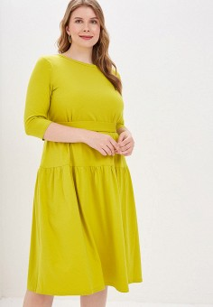 df3a85220c32086 Платье, Chic de Femme, цвет: зеленый. Артикул: MP002XW01TJ6. Одежда /