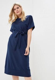 58612171ac1b8a8 Платье, Chic de Femme, цвет: синий. Артикул: MP002XW01TJB. Одежда /