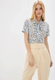 a2890d2fba36c Блуза, LooklikeCat, цвет: белый. Артикул: MP002XW022RB. Одежда / Блузы и