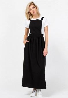 737db456954b371 Сарафан, Remix, цвет: черный. Артикул: MP002XW0235T. Одежда / Платья и