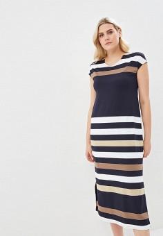 c0e0eafd85c8 Платье, Lavira, цвет: синий. Артикул: MP002XW023JN. Одежда / Одежда больших