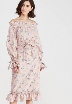 efcd8e946128c5c Женские платья со спущенными плечами — купить в интернет-магазине Ламода