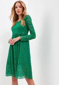 ba543775573ed33 Платье, Top Secret, цвет: зеленый. Артикул: MP002XW0E4WA. Одежда / Платья