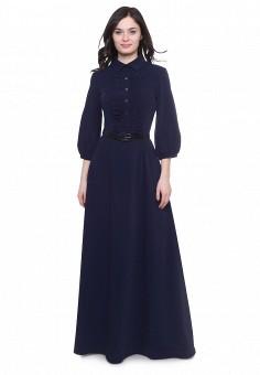 Платье, Olivegrey, цвет: синий. Артикул: MP002XW0F8D8. Одежда / Платья и сарафаны