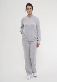 Купить серые женские спортивные костюмы от 2 200 руб в интернет ... 92348239ae6