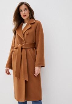 Пальто, Wolfstore, цвет: бежевый. Артикул: MP002XW0HGY0. Одежда / Верхняя одежда / Пальто / Зимние пальто