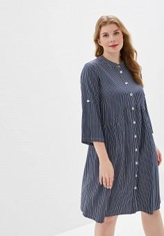 99b290ec9753 Платье, Очаровательная Адель, цвет: синий. Артикул: MP002XW0IRYA. Одежда /  Одежда