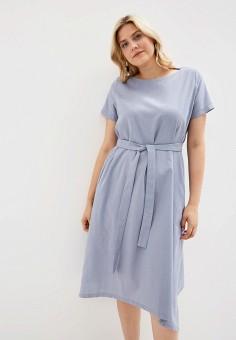 c2abfd36342c308 Платье, Chic de Femme, цвет: серый. Артикул: MP002XW0ISLU. Одежда /