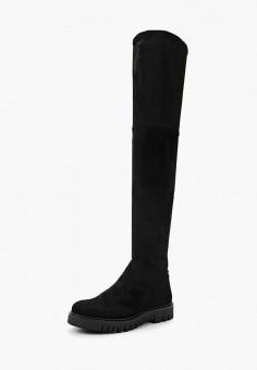dd08798b093c Ботфорты, Tommy Jeans, цвет: черный. Артикул: MP002XW0IT8M. Обувь / Сапоги