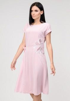 86962cad449e667 Платье, Raslov, цвет: розовый. Артикул: MP002XW0ITM0. Одежда / Одежда  больших