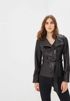 Куртка кожаная, Grafinia, цвет: черный. Артикул: MP002XW0IYAO.