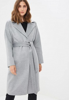 a77ed3a9bc6 Купить серые женские пальто от 1 890 руб в интернет-магазине Lamoda.ru!