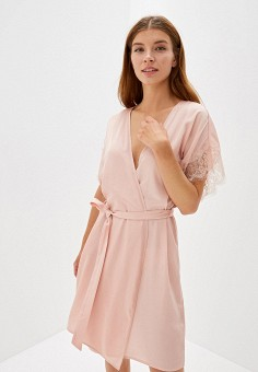 f87df603a5a7a Халат домашний, Deseo, цвет: розовый. Артикул: MP002XW0R0OB. Одежда /  Домашняя