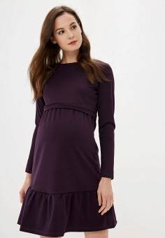 b89c1c7efaa22 Платье, I Love Mum, цвет: фиолетовый. Артикул: MP002XW0R5ZQ. Одежда /