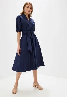 c63b881811e9 Платье, Incity, цвет: синий. Артикул: MP002XW0RAJV. Одежда / Платья и
