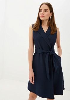 b281601cfbfe6 Платье, Zarina, цвет: синий. Артикул: MP002XW0RBV9. Одежда / Платья и
