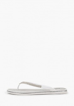 Сланцы, GLAMforever, цвет: белый. Артикул: MP002XW0RU5L. Обувь