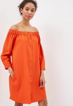 Платье, Ruxara, цвет: оранжевый. Артикул: MP002XW0TOWW. Одежда / Платья и сарафаны