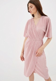 7dcea8657c7a4b1 Платье, Zarina, цвет: розовый. Артикул: MP002XW0TW5F. Одежда / Платья и