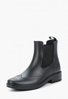 Резиновые полусапоги, Tervolina, цвет  черный. Артикул  MP002XW0TXJU. Обувь 7911370c13c