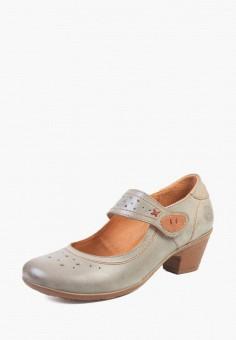 da4a945513ff Купить серые женские туфли от 799 руб в интернет-магазине Lamoda.ru!