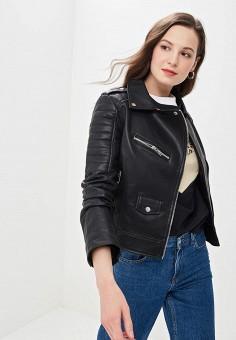 bab8ae128fb Купить женские кожаные куртки от 999 руб в интернет-магазине Lamoda.ru!